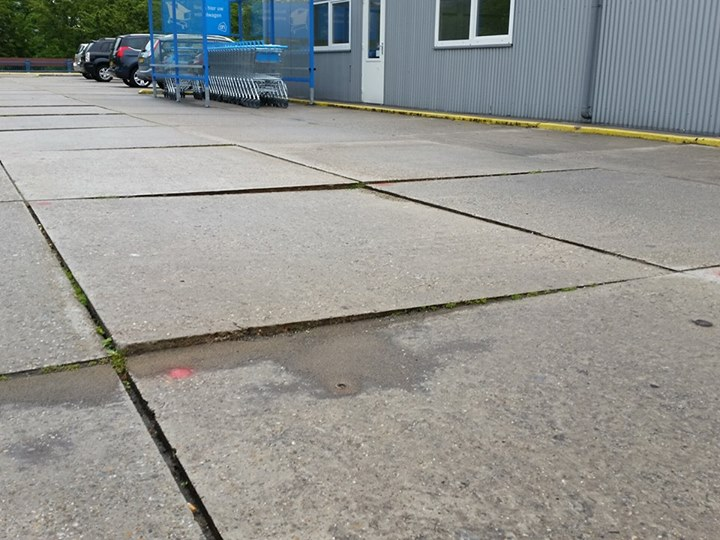 parkeerdek delft recht leggen