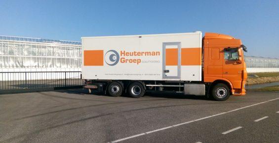 Hardschuim installatie Heutermangroep